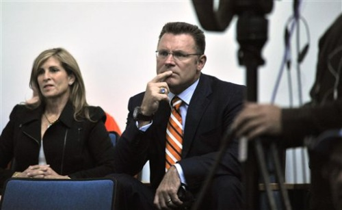 Diane Addonizio and Howie Long  Source: www.playerwags.com
