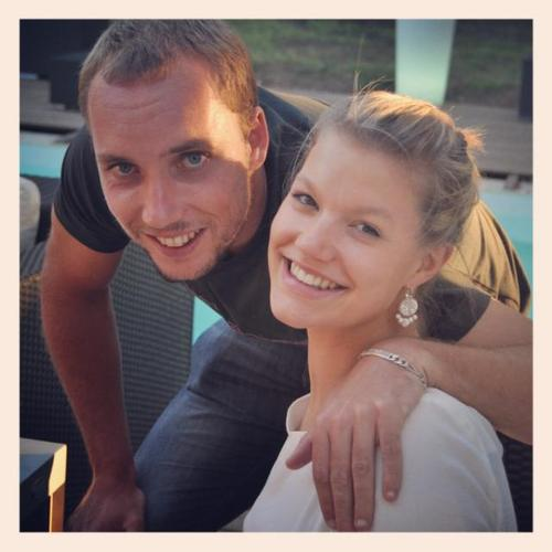 Steve-Darcis-Girlfriend-Dachouffe-Lauranne-pics