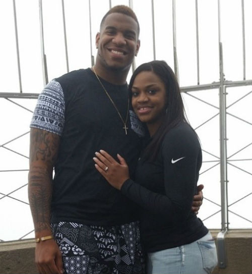 Eric-Ebron-Fiancée-Brittany-Rountree-pics